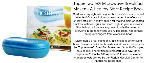 tupperware breakfast buddy