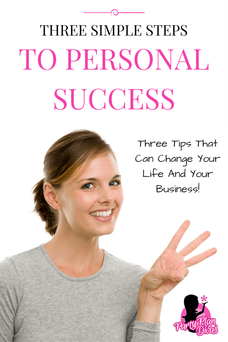 Three Steps to Personal Success
