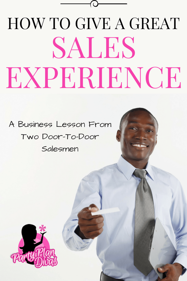 A Pleasant Sales Experience