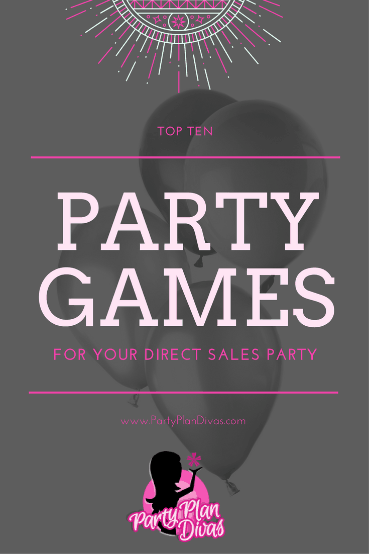 Fun Direct Sales Home Party Plan Games