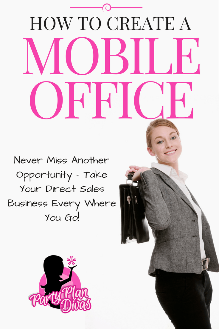 Mobile Office – Party Plan Tools