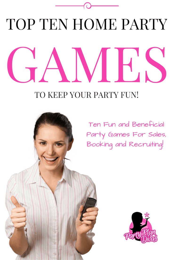 fun direct sales party games