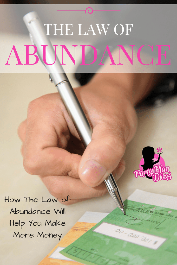 The Law Of Abundance for the New Year