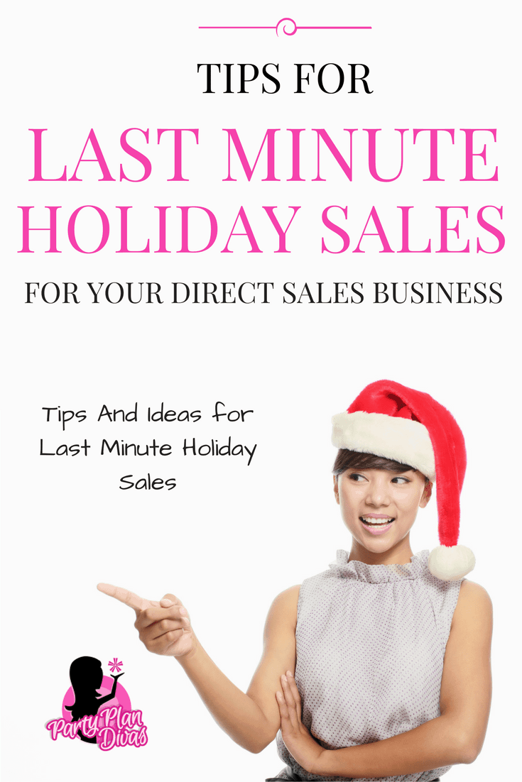 LAST Minute Holiday Sales Ideas