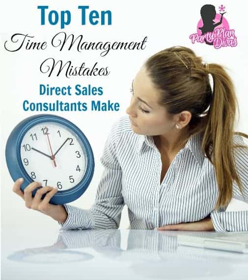 Top Ten Time Management Mistakes