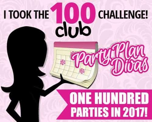 Join The 100 Party Challenge at Party Plan Divas