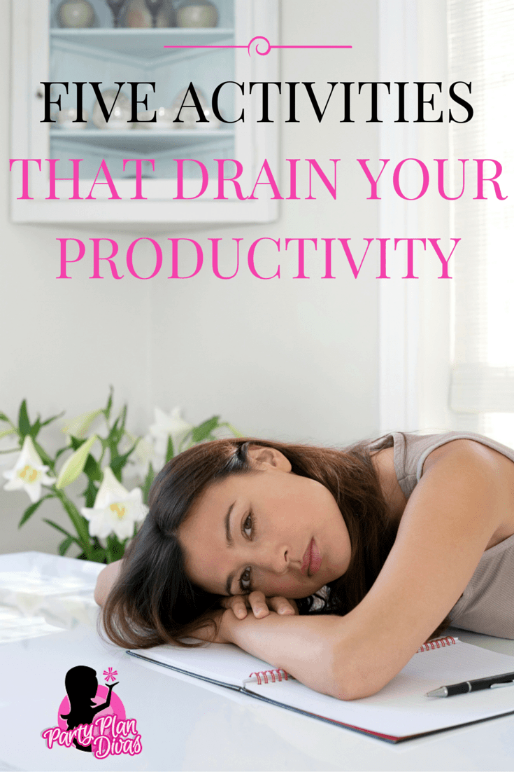 Five Activities That Drain Your Productivity