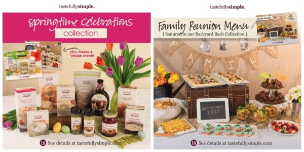 tastefully simple collections