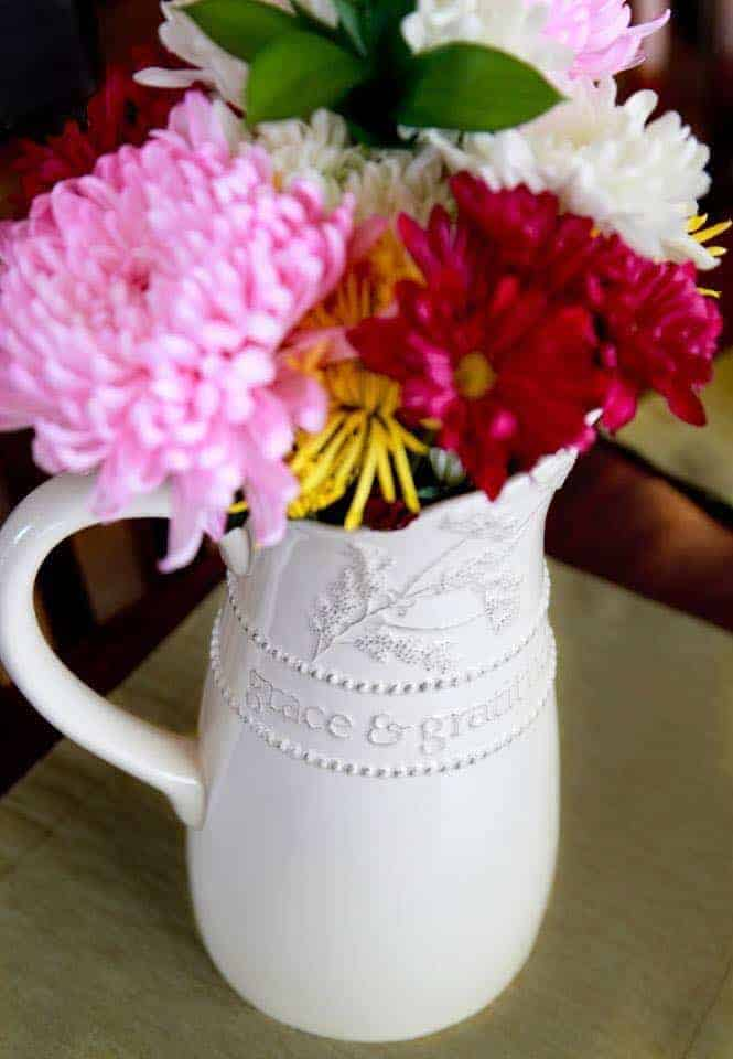 mary and martha vase