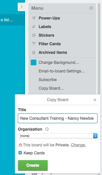 copy trello board