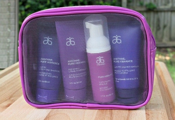 arbonne travel set