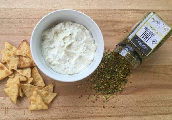 your inspiration at home thai dip