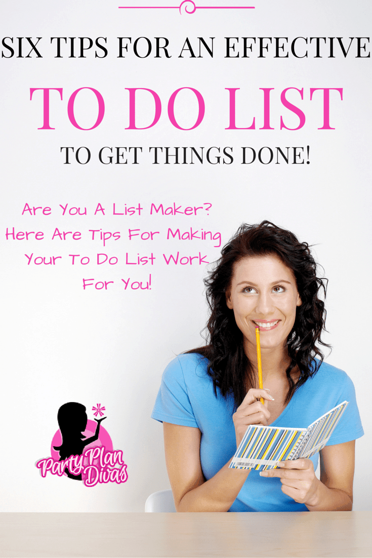 "Six Tips To Make An Effective ""To Do List"""