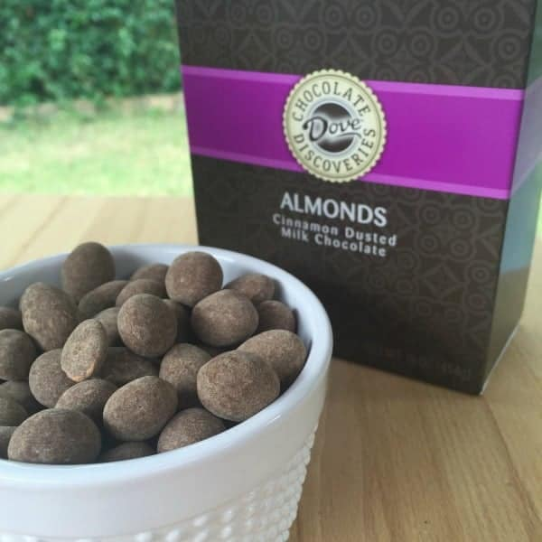 dove chocolate cinnamon dusted almonds