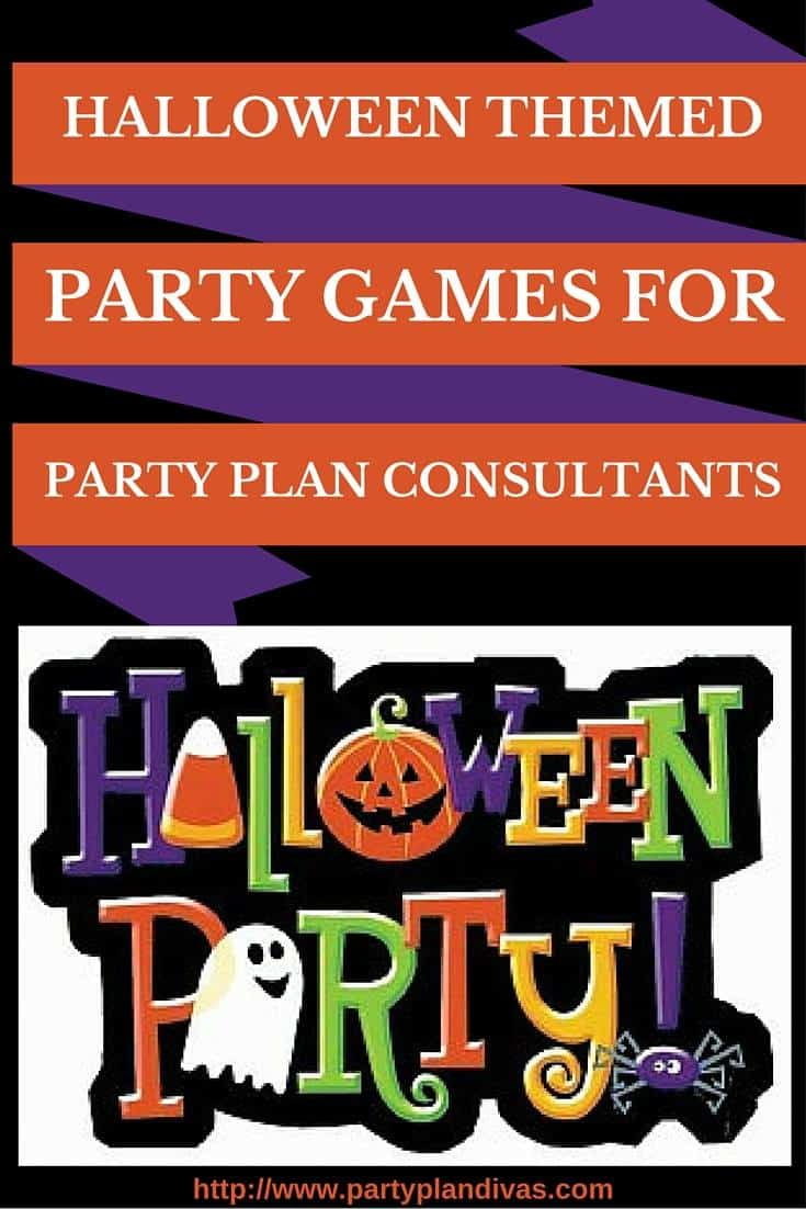 Halloween Themed Party Games for Party Plan Consultants