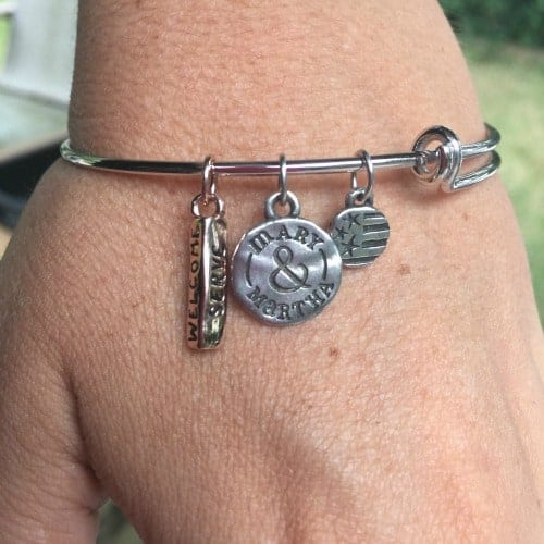 mary and martha bracelet