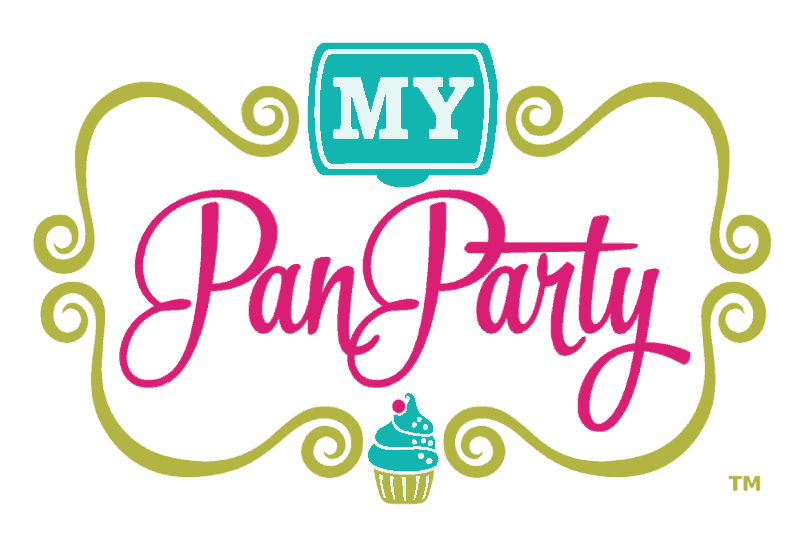 my pan party logo
