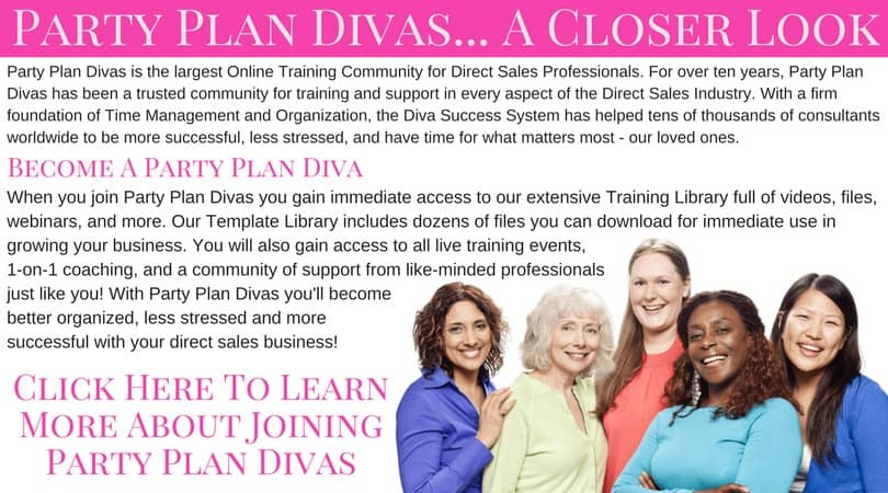 about party plan divas
