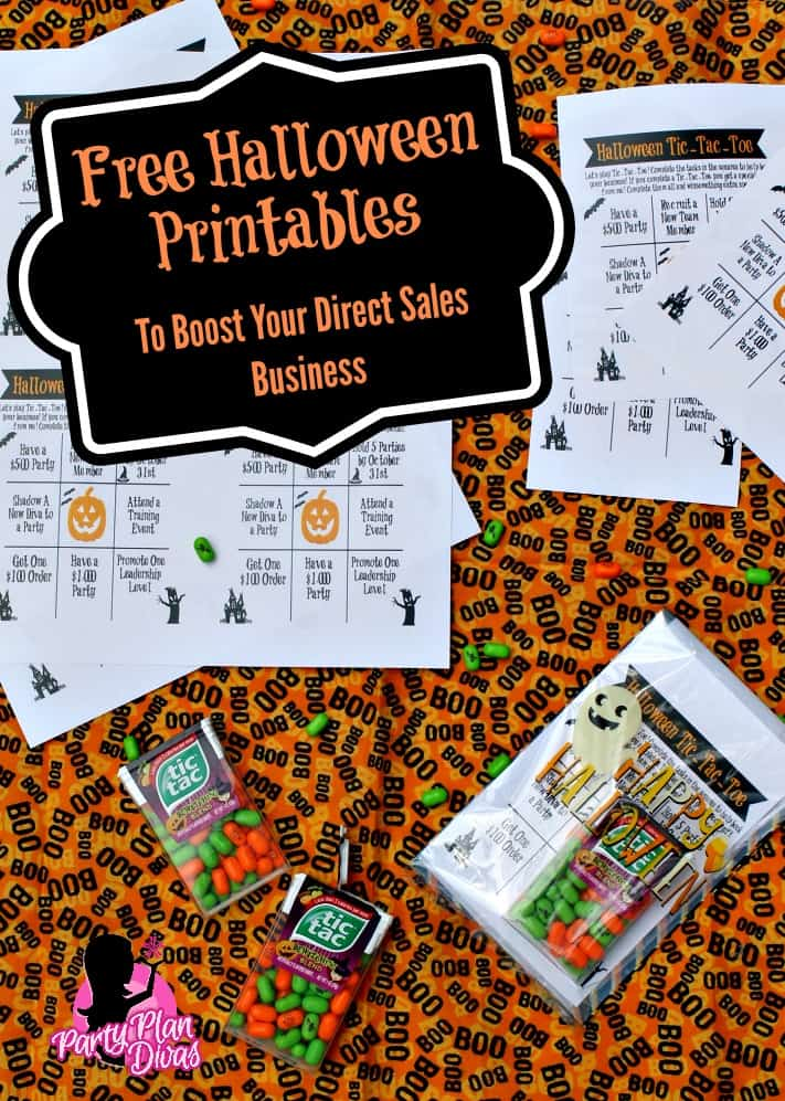 Free Halloween Printable to Boost Your Direct Sales Business