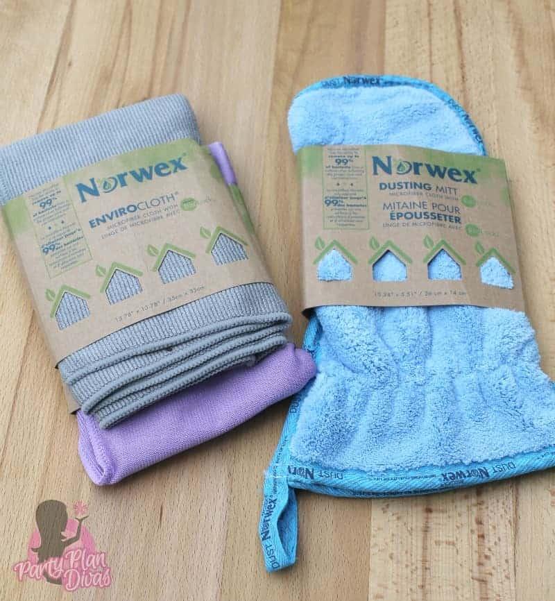 norwex window cloth instructions