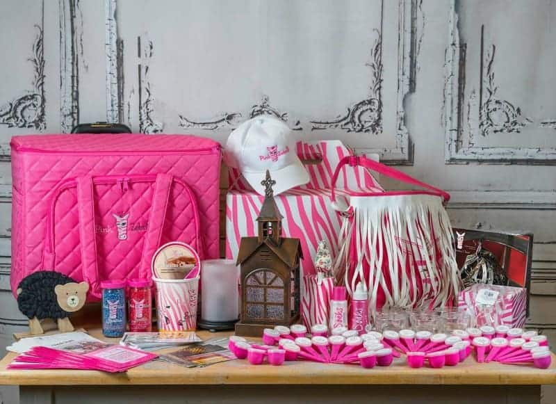 Pink zebra business opportunity party plan asparty plan as