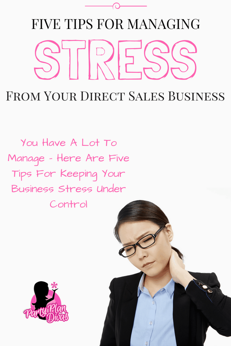 5 Tips To Help Beat Business Stress