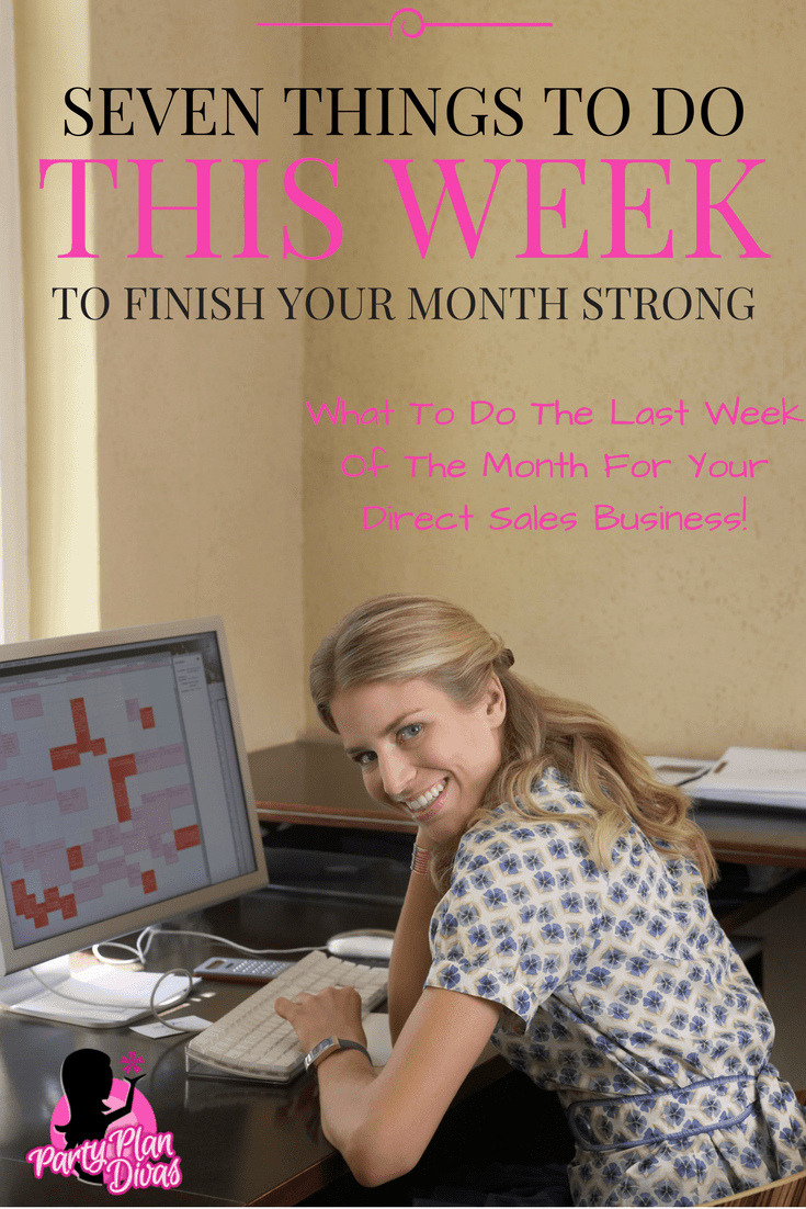 End Of The Month Tasks For Success
