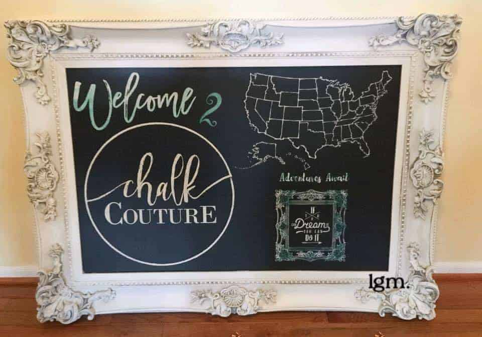 Home Decor Direct Selling Companies: Chalk Couture Review & Giveaway