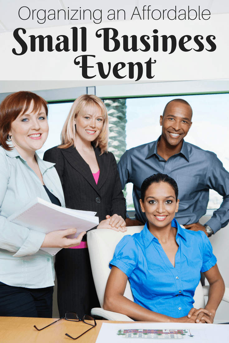 Organizing an Affordable Small Business Event