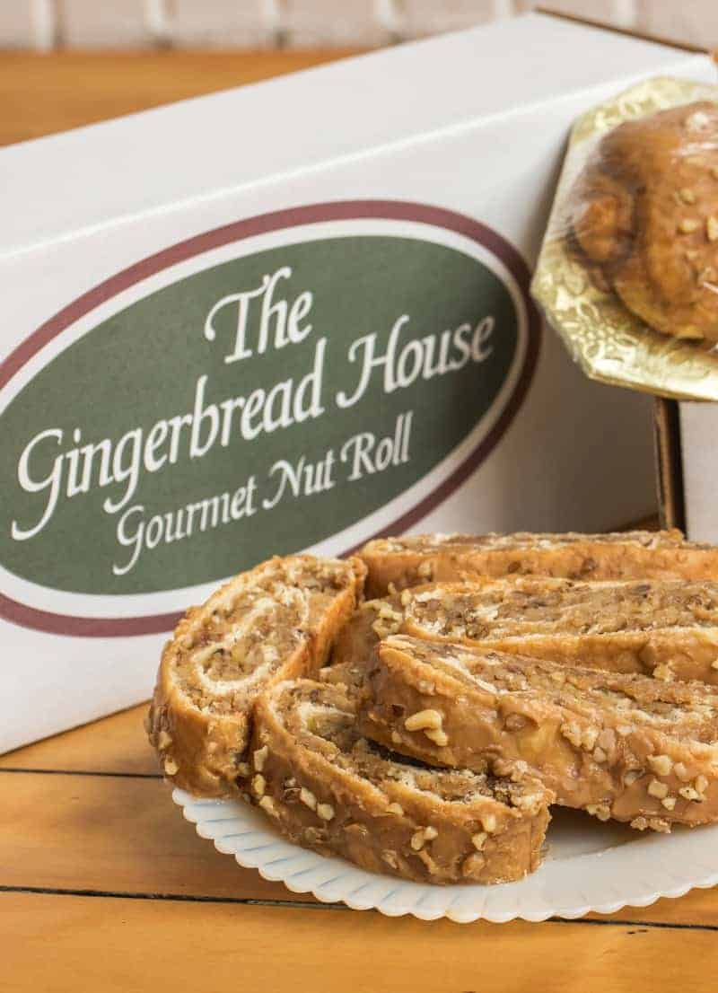 The Gingerbread House Gourmet Nut Roll Giveaway