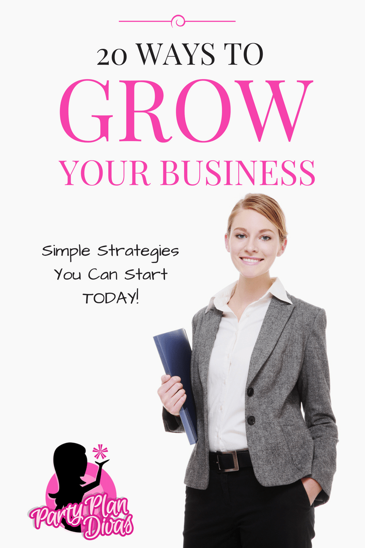 20 Ways To Grow Your Business