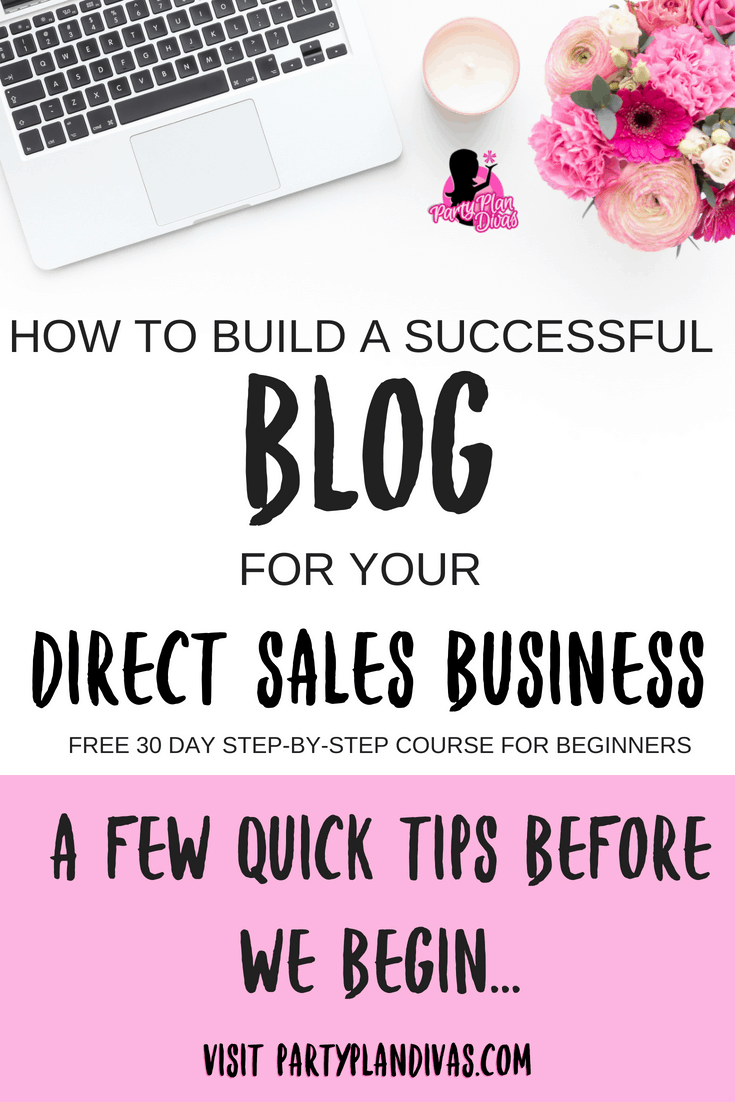 Build A Business Blog – Getting Started