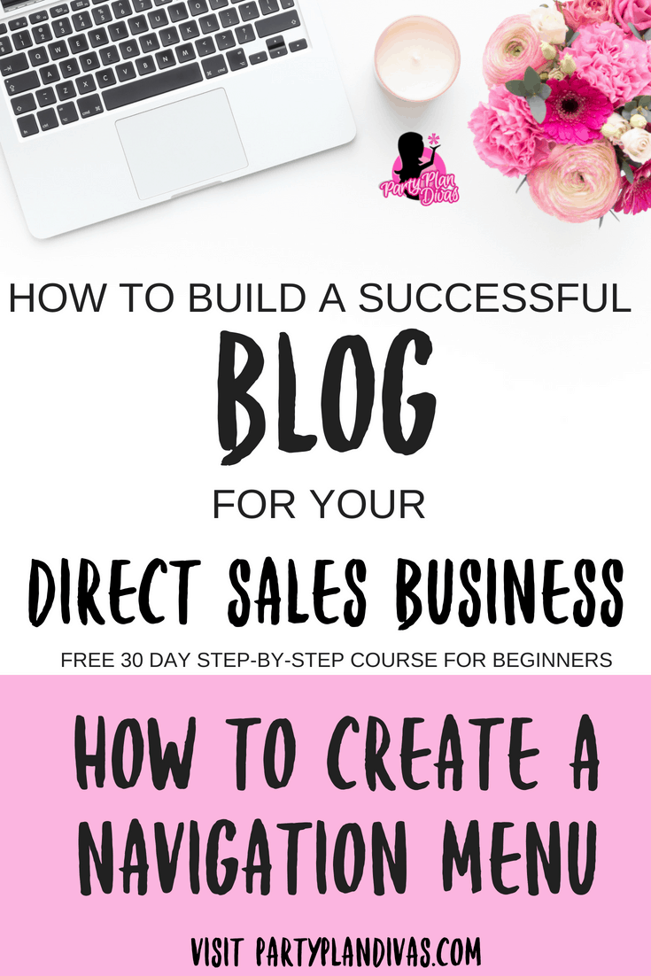 Build a Business Blog – How To Create a Menu