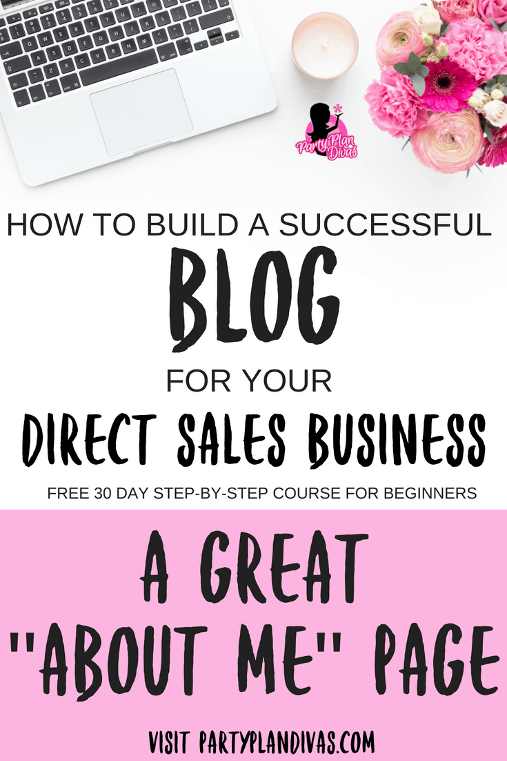 """Build a Business Blog – Your """"About Me"""" Page"""