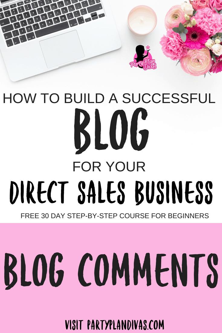 Build a Business Blog – Blog Comments