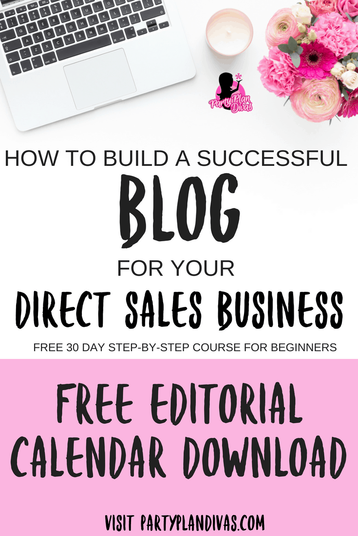 Build a Business Blog – Blogging Editorial Calendar Download
