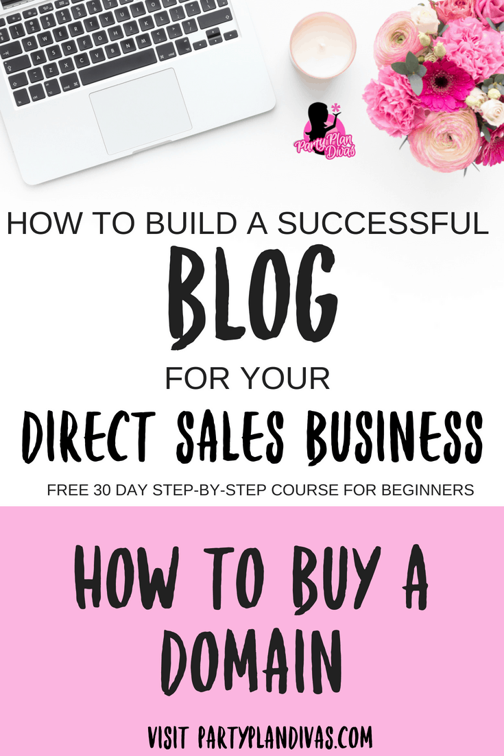 Build a Business Blog- Buying a Domain