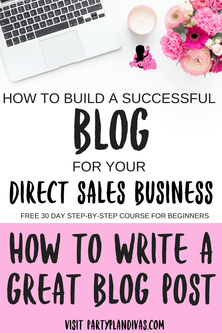 Build a Business Blog – How To Write a Great Blog Post