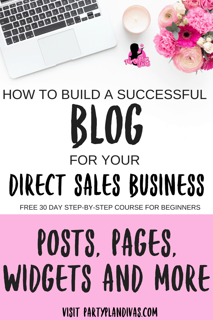Build A Business Blog – Posts, Pages, Widgets, and More!