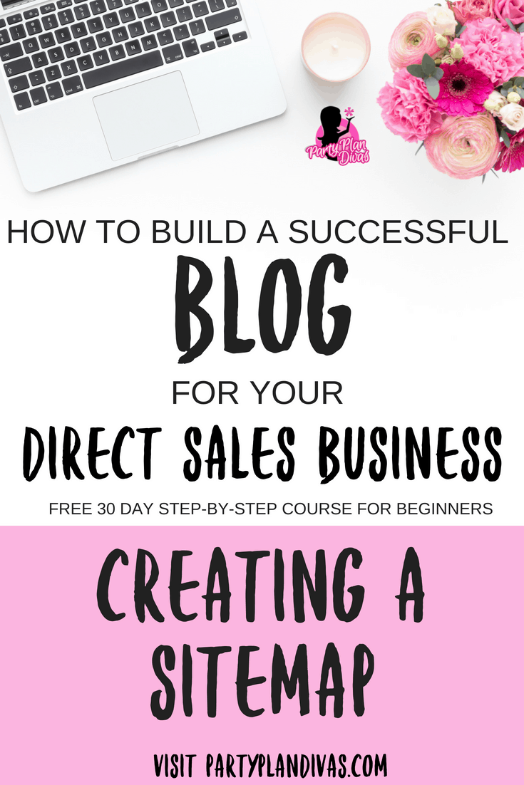 Build a Business Blog – Creating a SiteMap