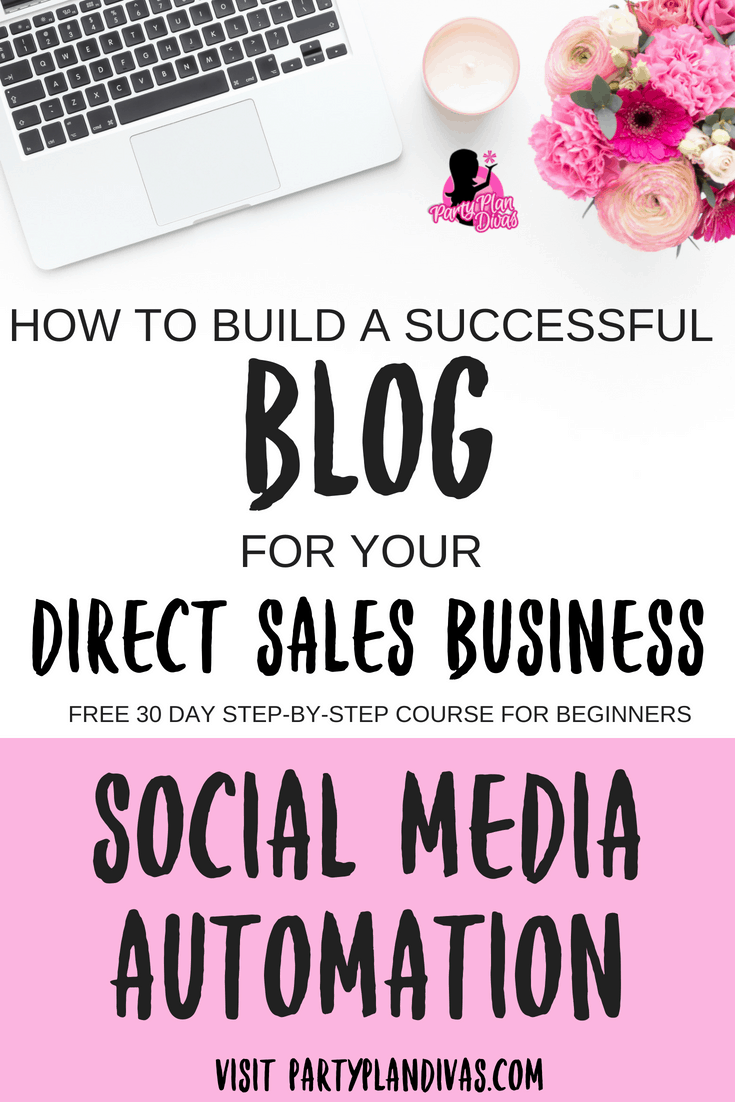 Build a Business Blog – Automate Your Social Media