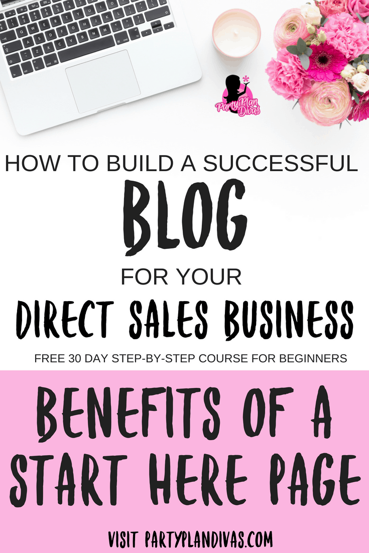 Build a Business Blog – A Start Here Page