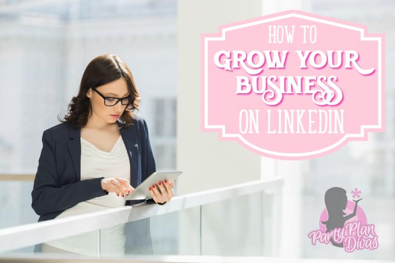 build your business on linkedin