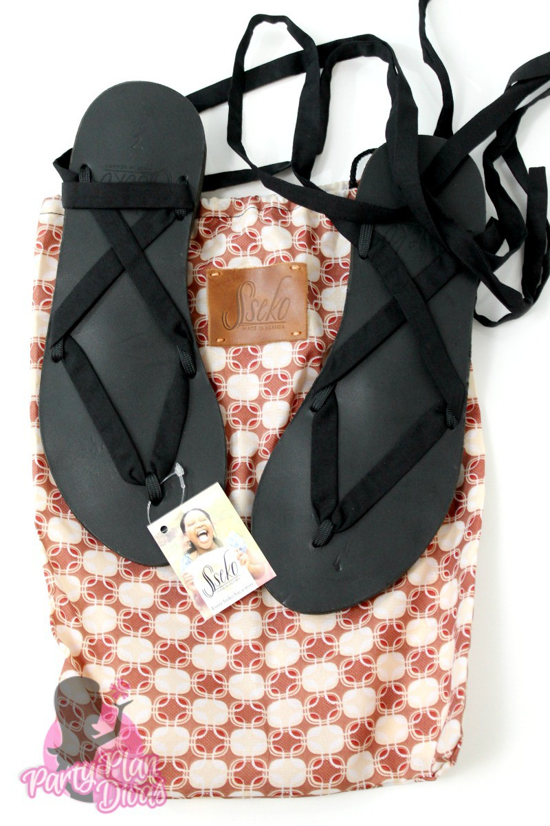 Sseko Designs Ribbon Sandals