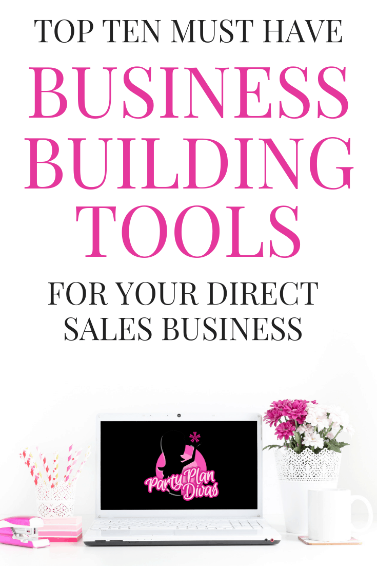Business Building Tools for Direct Sellers