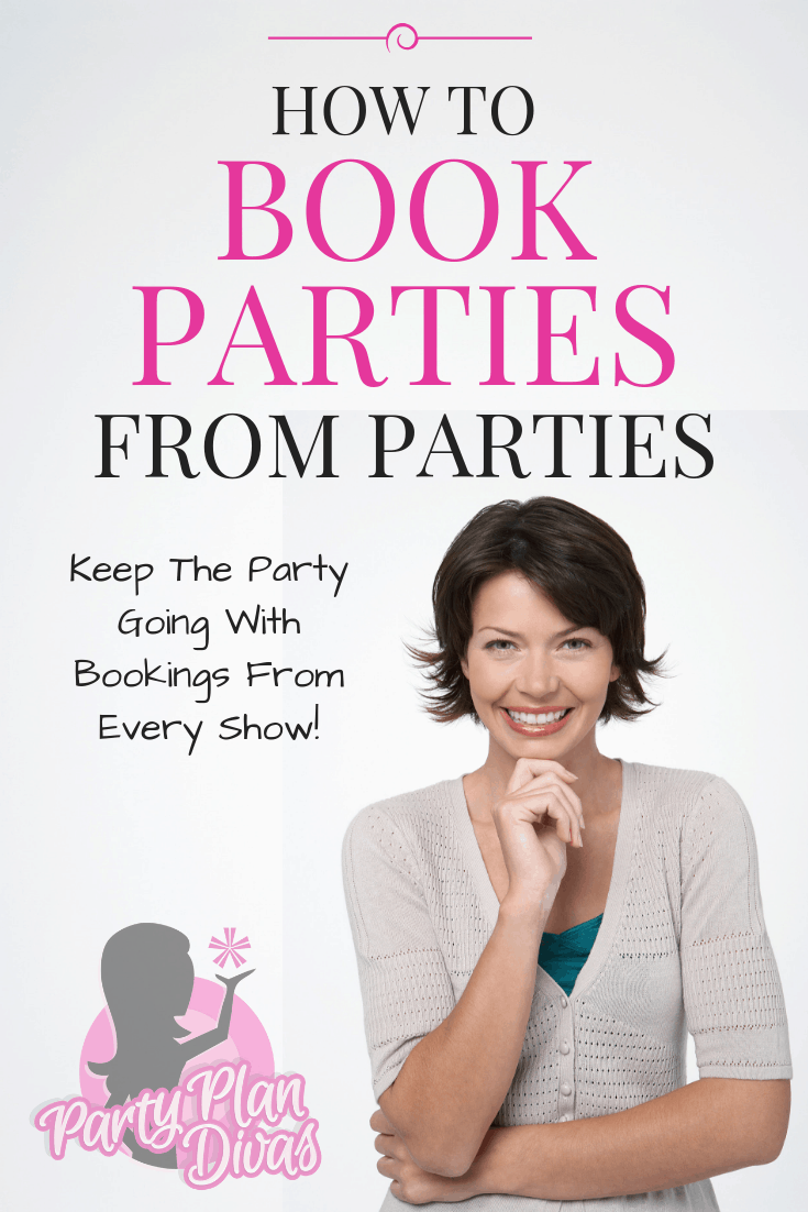 how to book parties from parties