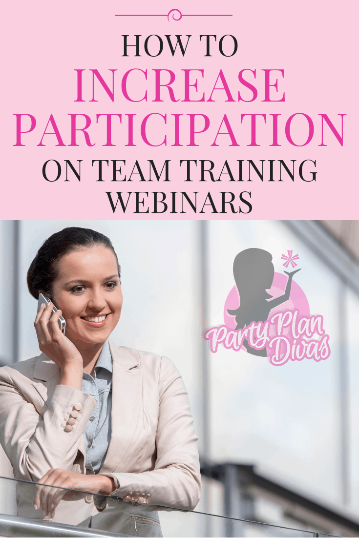 How To Increase Participation On Team Webinars