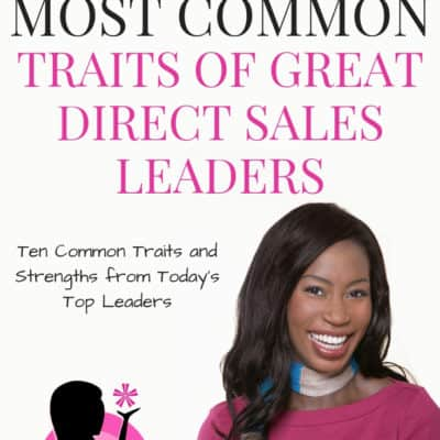 Direct Sales Leadership Traits