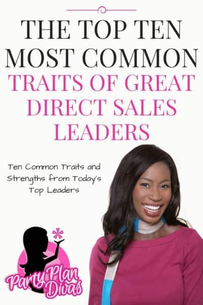 Direct Sales Leadership Traits