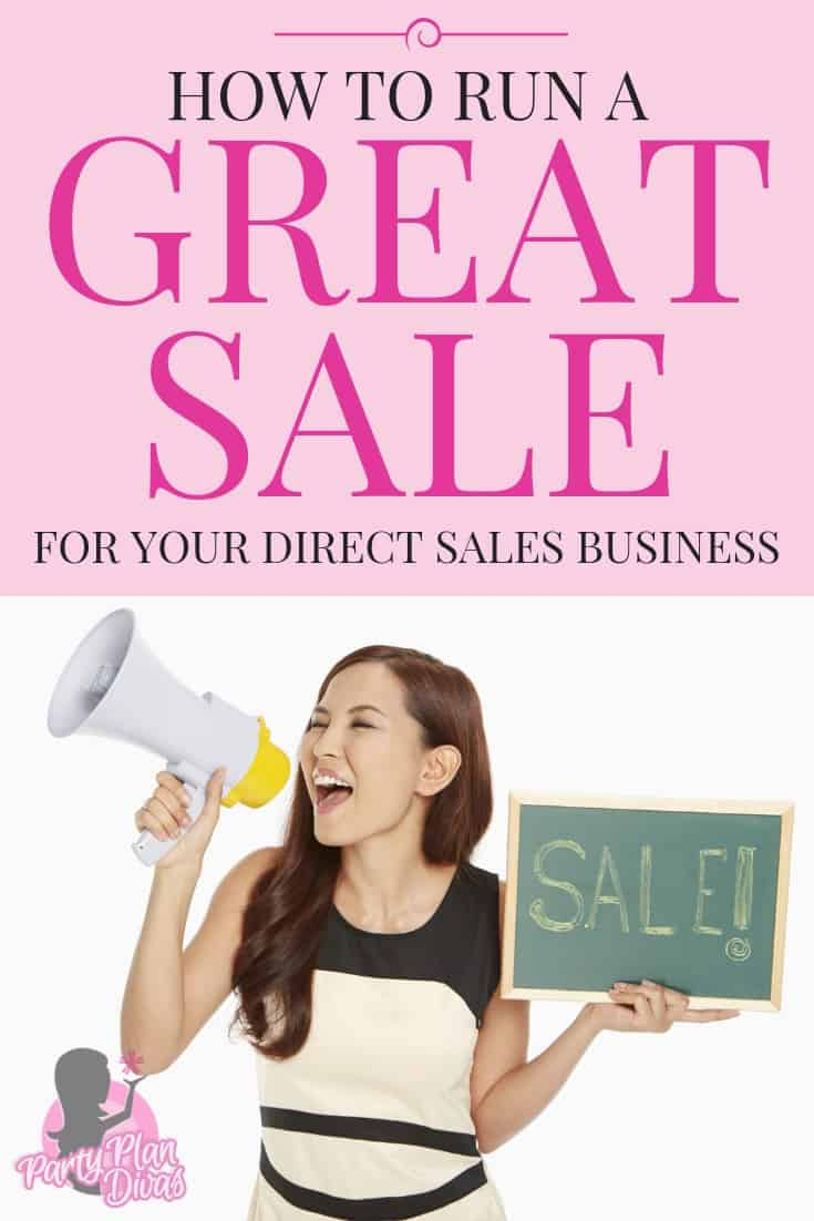 Running Sales and Promotions is a huge part of the Direct Sales Industry - learn how to make them a huge success!